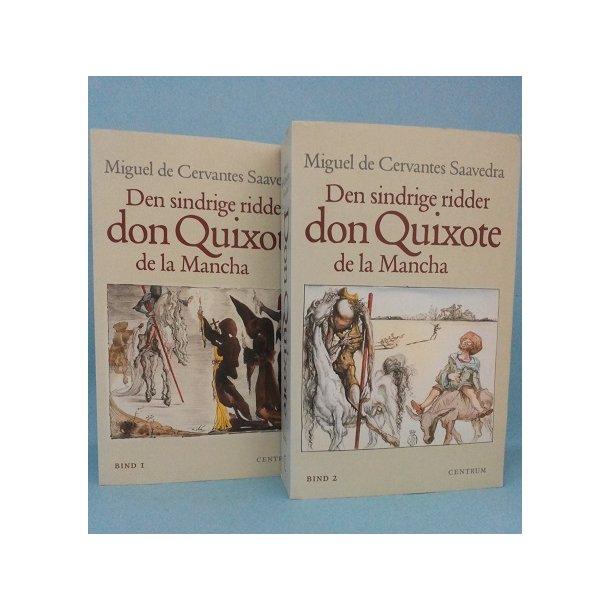 Den sindrige ridder don Quixote de la Mancha ;2 bd. Miguel de Cervantes Saavedra