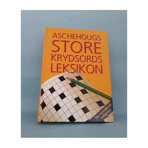Aschehougs Store krydsords leksikon, red. Michael Alring og Per Krølle