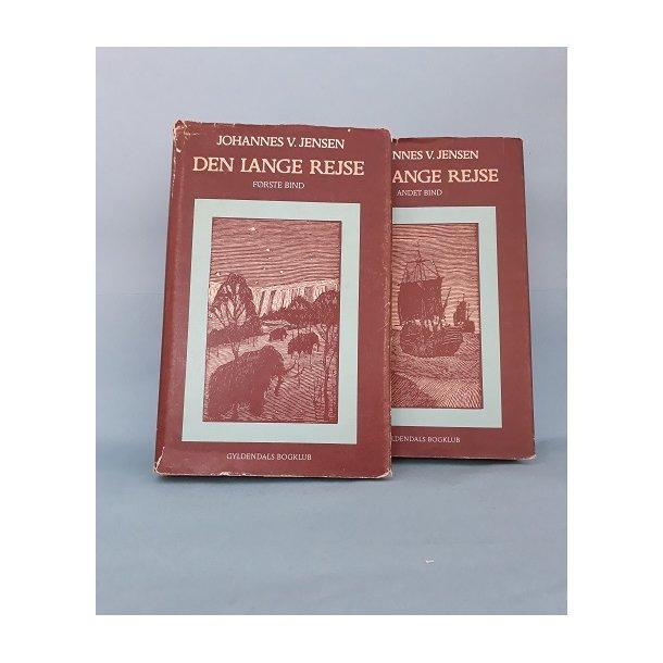 Den lange Rejse (2 bd.), Johannes V. Jensen