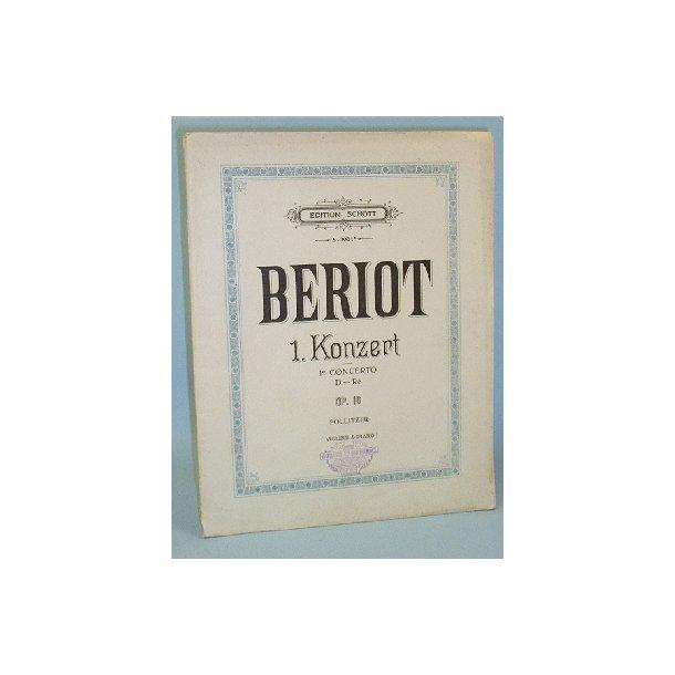Ch. de Bériot: 1. Konzert, 1er Concerto, Op. 16