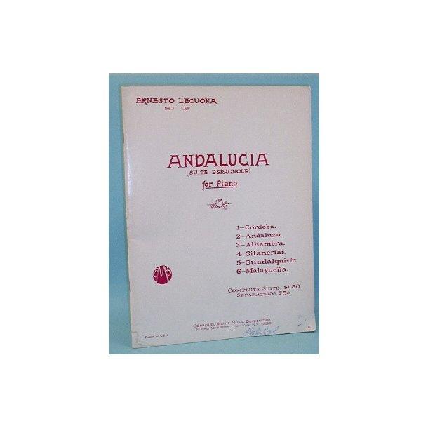 Ernesto Lecuona: Andalucia (Suite Espagnole) ,