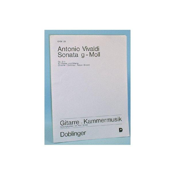 Sonata g-Moll, Antonio Vivaldi Op. 2/1 für