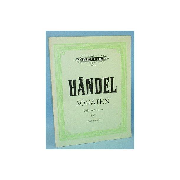 G.F. Händel: Sonaten. Band I