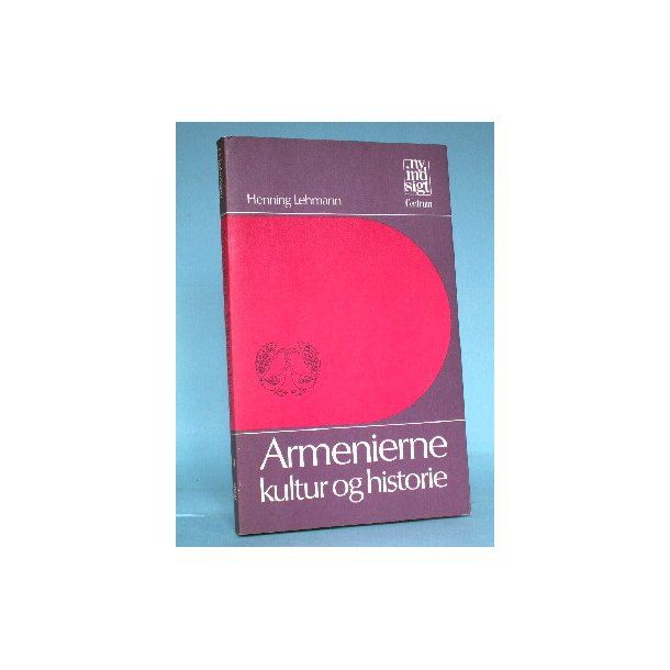 Armenierne - kultur og historie, Henning Lehmann
