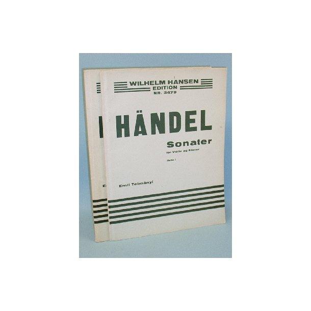 G.F. Händel: Sonaten Band I+II