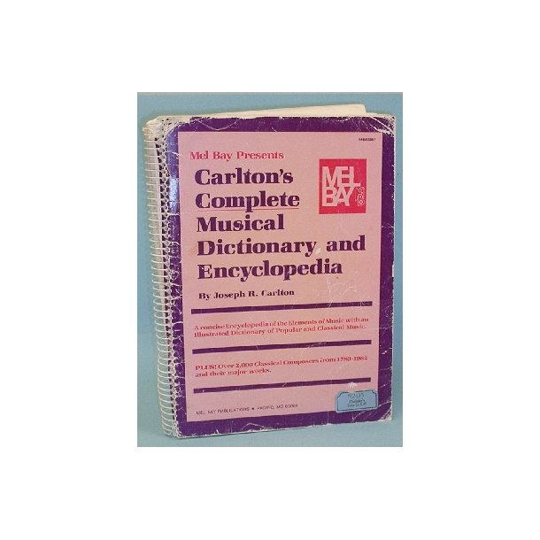 Carlton's Complete Musical Dictionary and