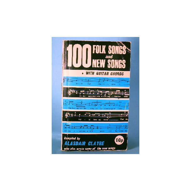 100 Folk Songs and New Songs with gutiar chords.
