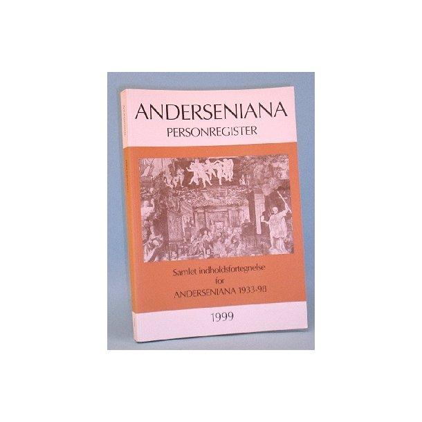 Anderseniana 1999 personregister