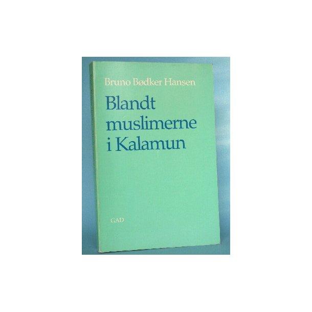 Blandt muslimerne i Kalamun, Bruno Bødker Hansen