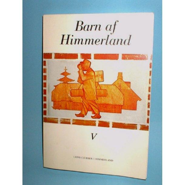 Barn af Himmerland bd. 5. 1987.
