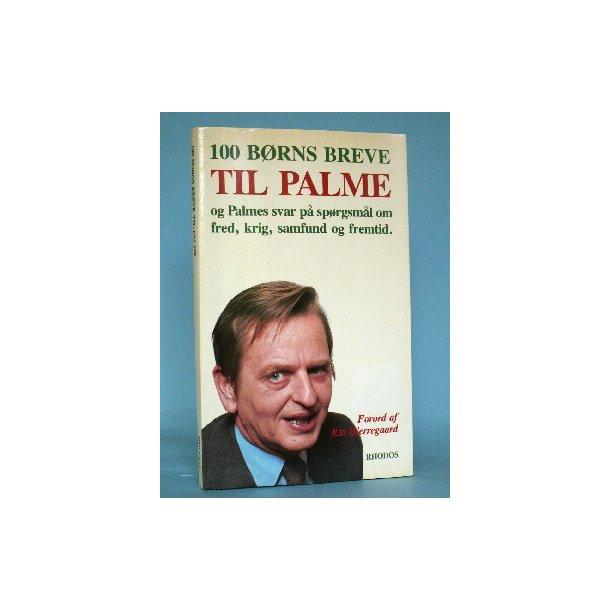 100 børns breve til Palme