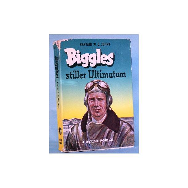 Biggles stiller ultimatum, Captain W.E. Johns