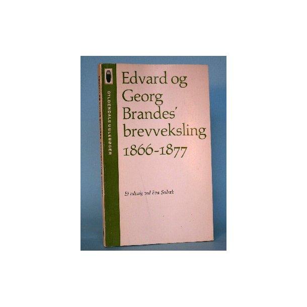 Edvard og Georg Brandes' brevveksling 1866-1877