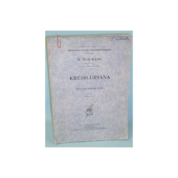 Robert Schumann: Kreisleriana Op. 16,