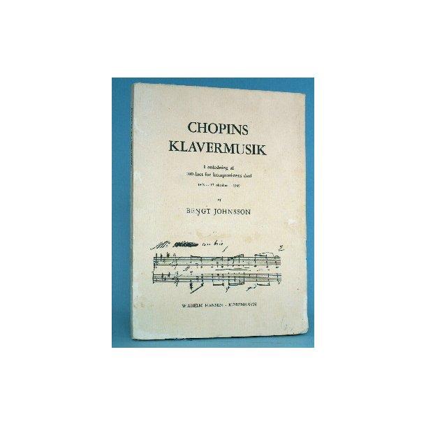 Chopins musik, af Bengt Johnsson