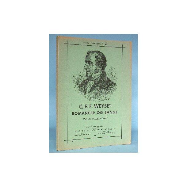 C.E.F. Weyse: Romancer og Sange