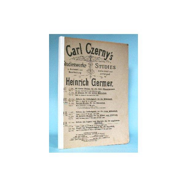 Carl Czerny: Studienwerke - Band 2, Teile 3 & 4