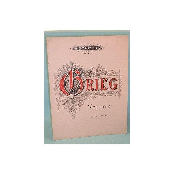 Edvard Grieg: Notturno, Opus 54 no. 4
