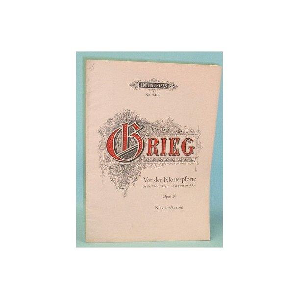 Edvard Grieg: Vor der Klosterpforte
