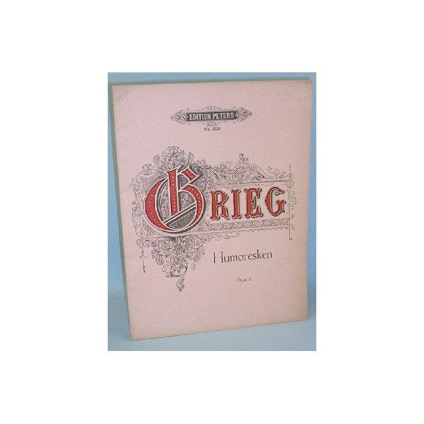 Edvard Grieg: Humoresken, Opus 6