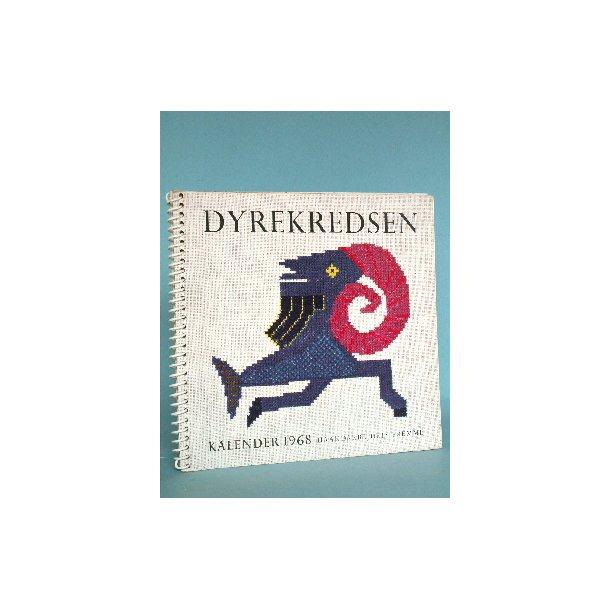 Aarets Korssting 1968, Calendar 1968 - Dyrekredsen