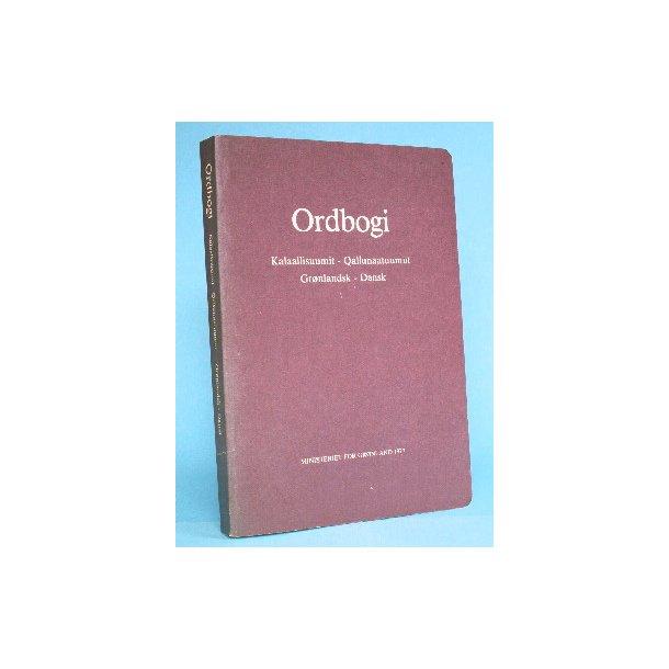 ordbog dansk grønlandsk