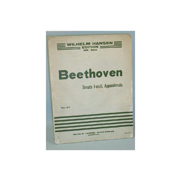 L. van Beethoven: Sonate, Op. 57, F-moll