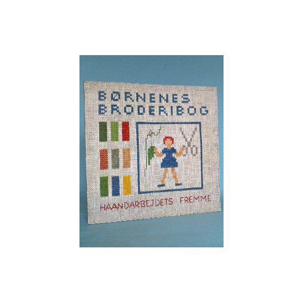 Børnenes broderibog - Childrens' Cross-stitch book