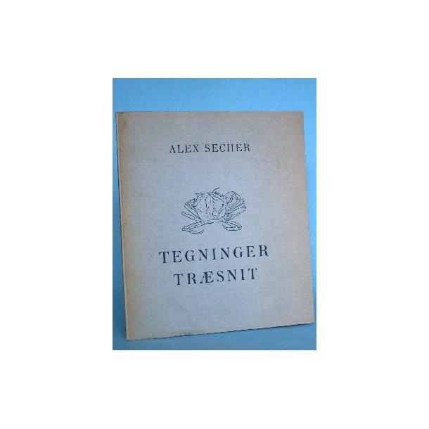 Alex Secher: Tegninger Træsnit