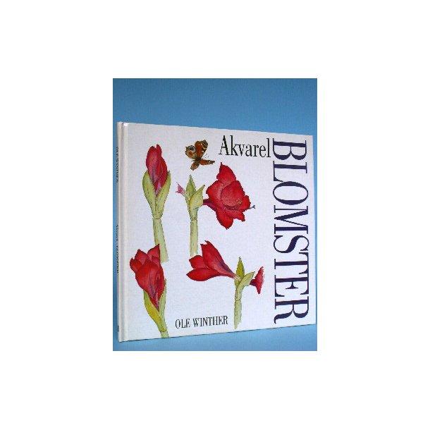 Akvarel Blomster, Ole Winther