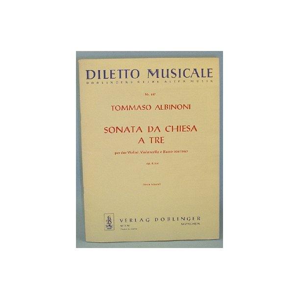 Tommaso Albinoni: Sonata da Chiesa a Tre