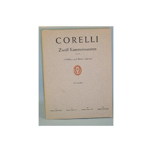 Arcangelo Corelli: Zwölf Kammersonaten, Op. 2