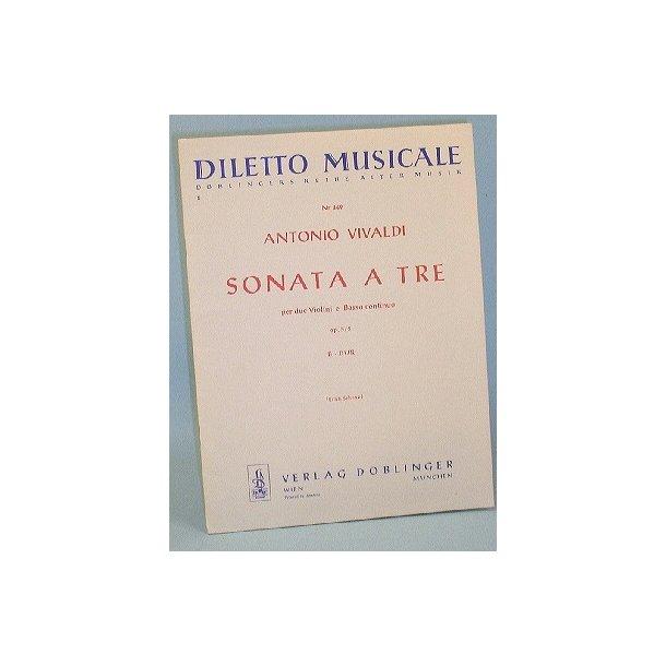 Antonio Vivaldi: Sonata a tre, Op.5/5 B-dur